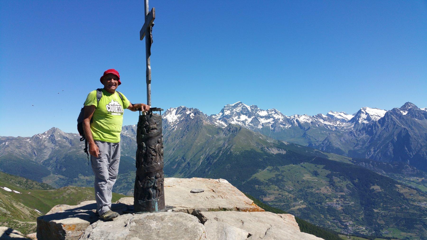 Punta Chaligne 2607 m.