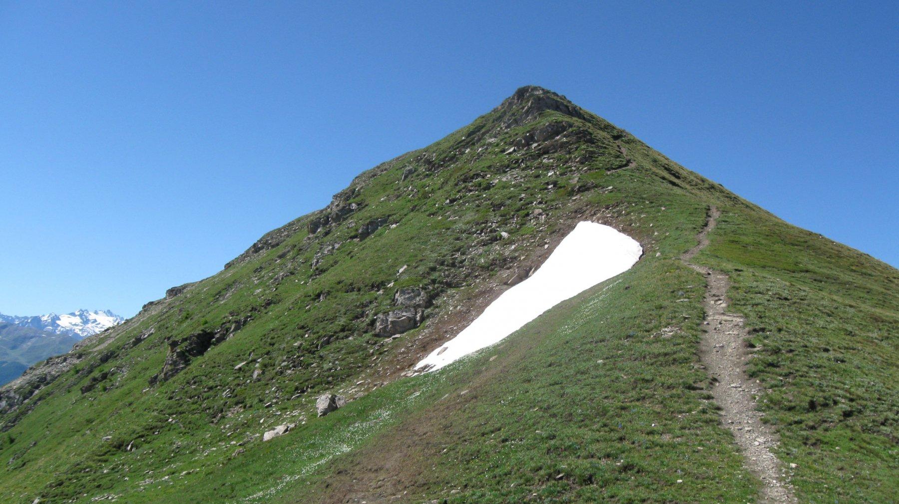 Punta Metz 2552 m.