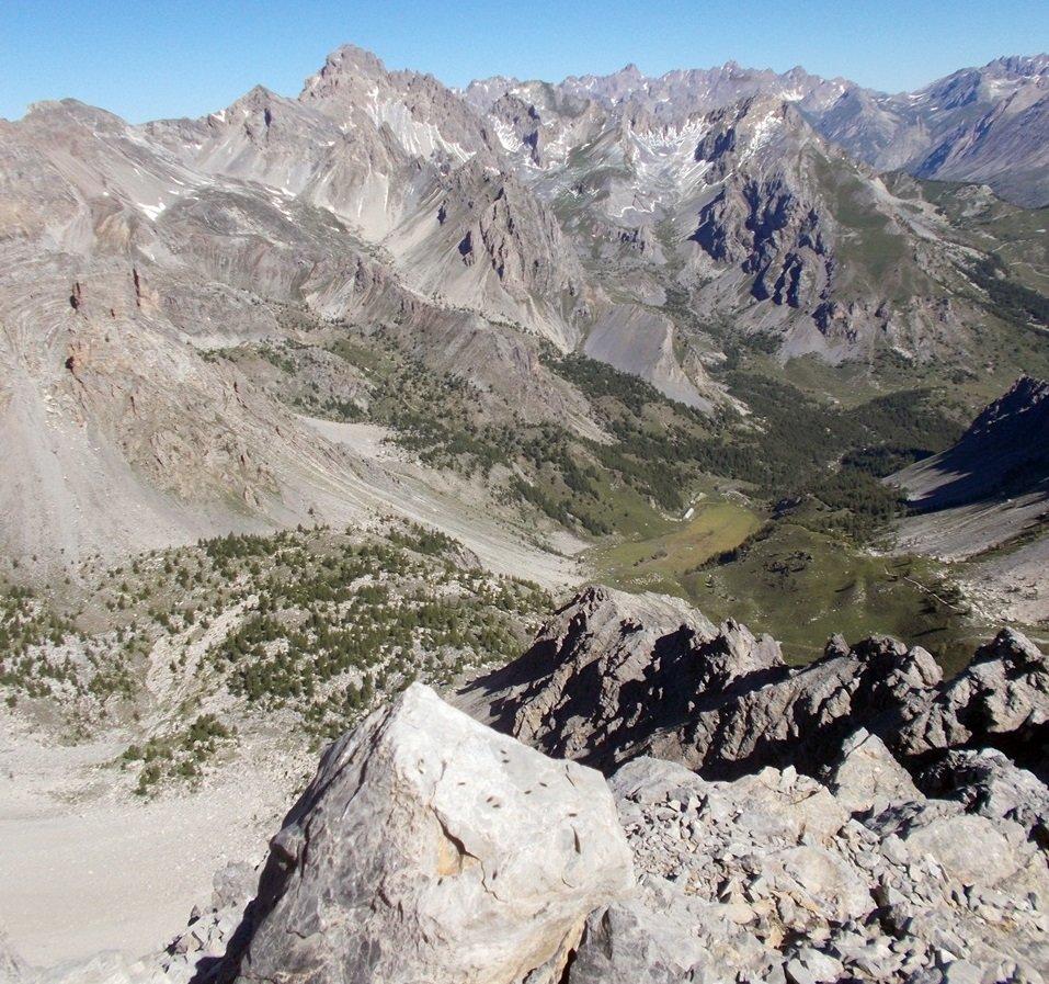 dalla cima,vista su Prato Ciorliero