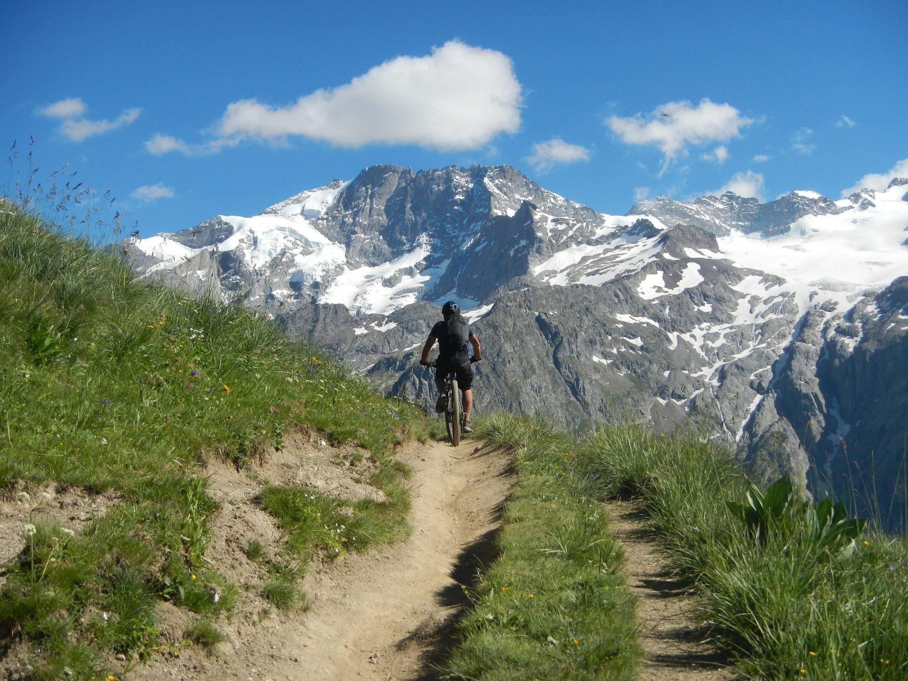 oltre il Colle du Souchet e verso le Chazelet