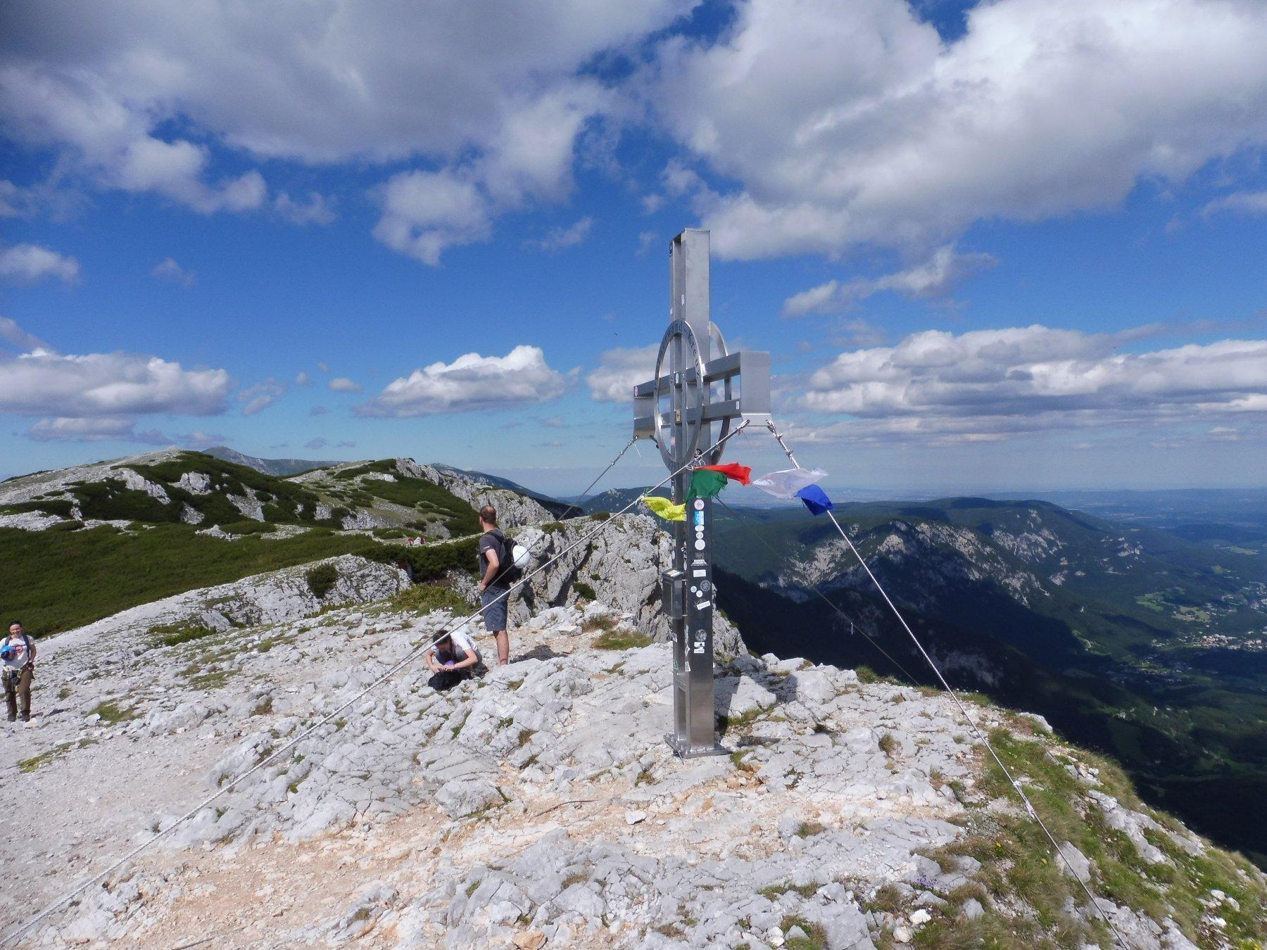 Rax (altopiano) da Kaiserbrunn 2020-07-05