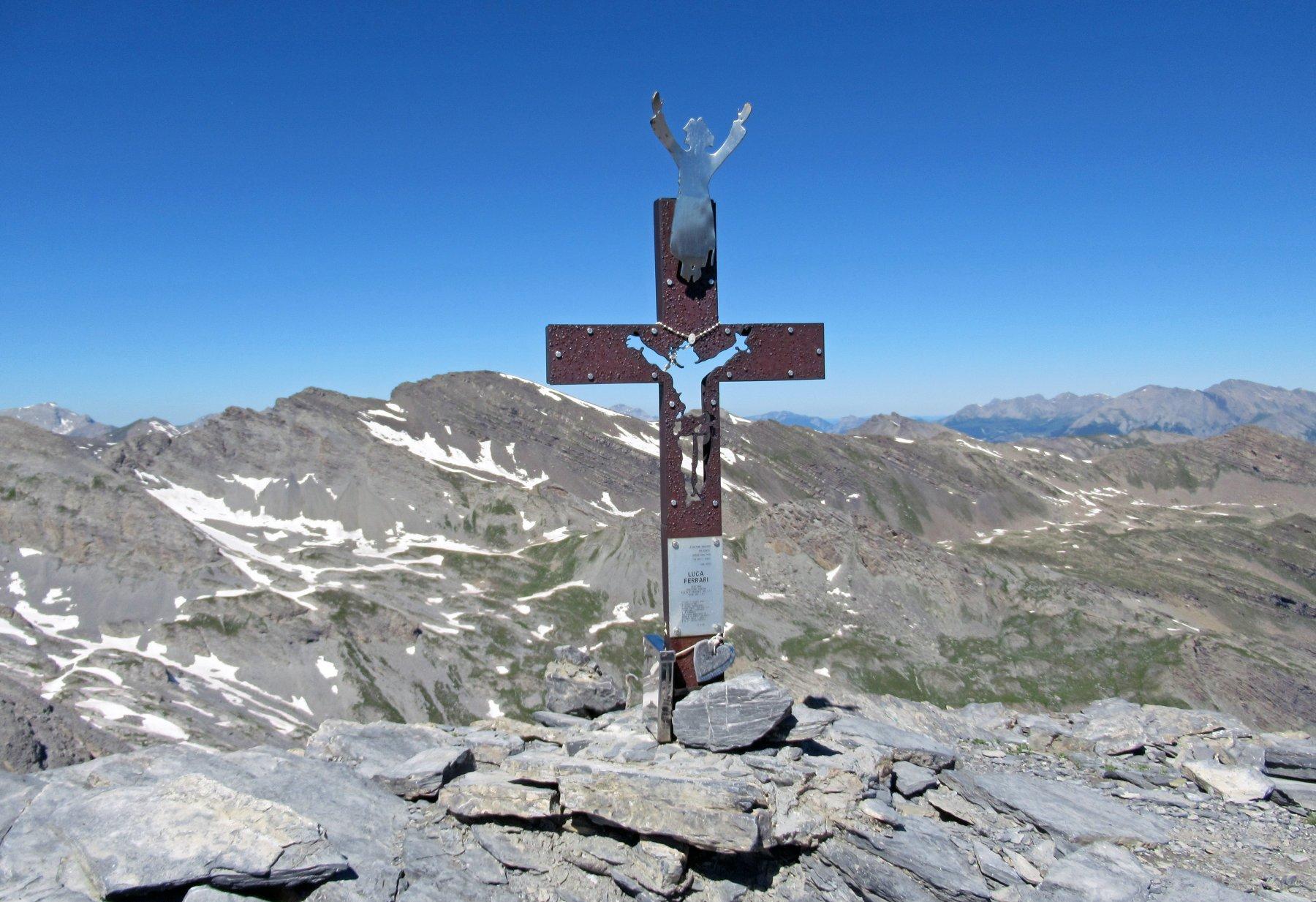 Croce di vetta Rocca Tre Vescovi