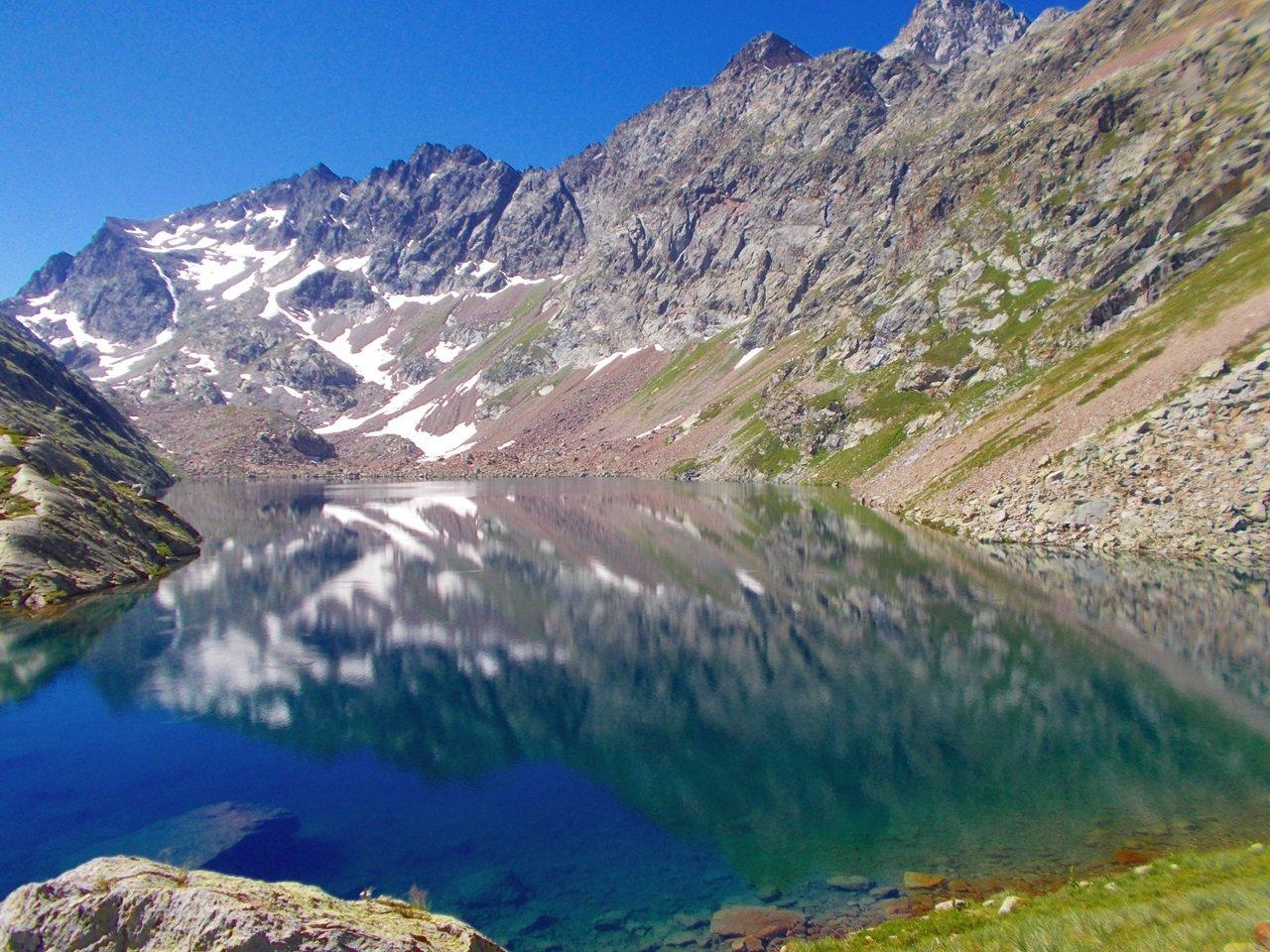Lago Soprano di Sella