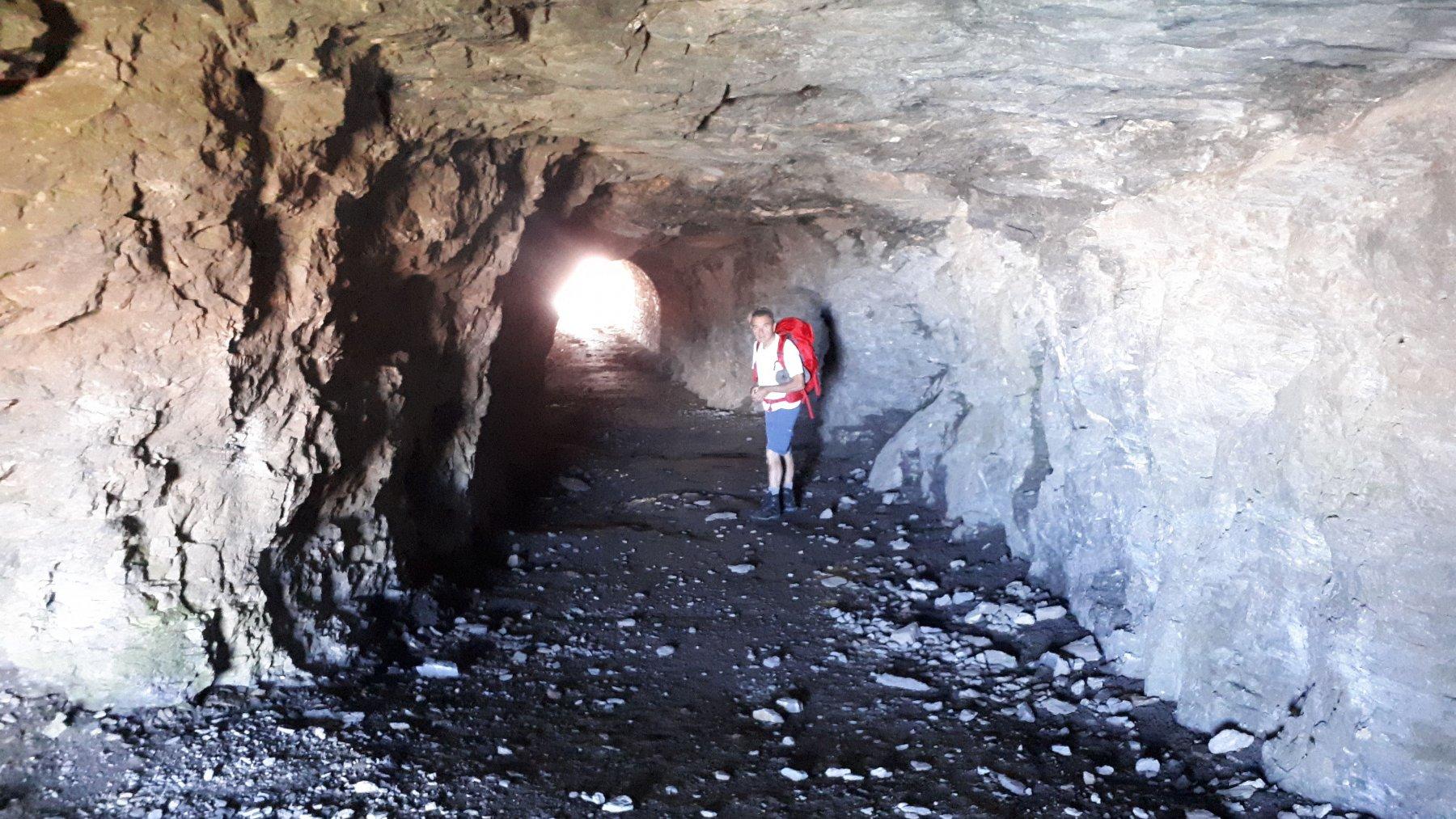 Nei tunnel del forte