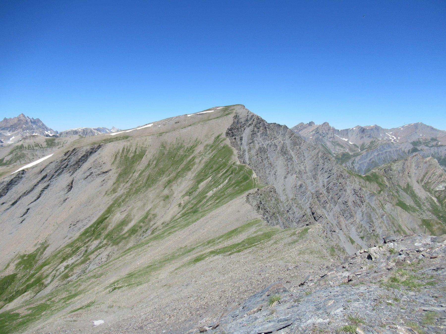 Monte Faraut (m.3046) dal Monte Reghetta (m.2965).