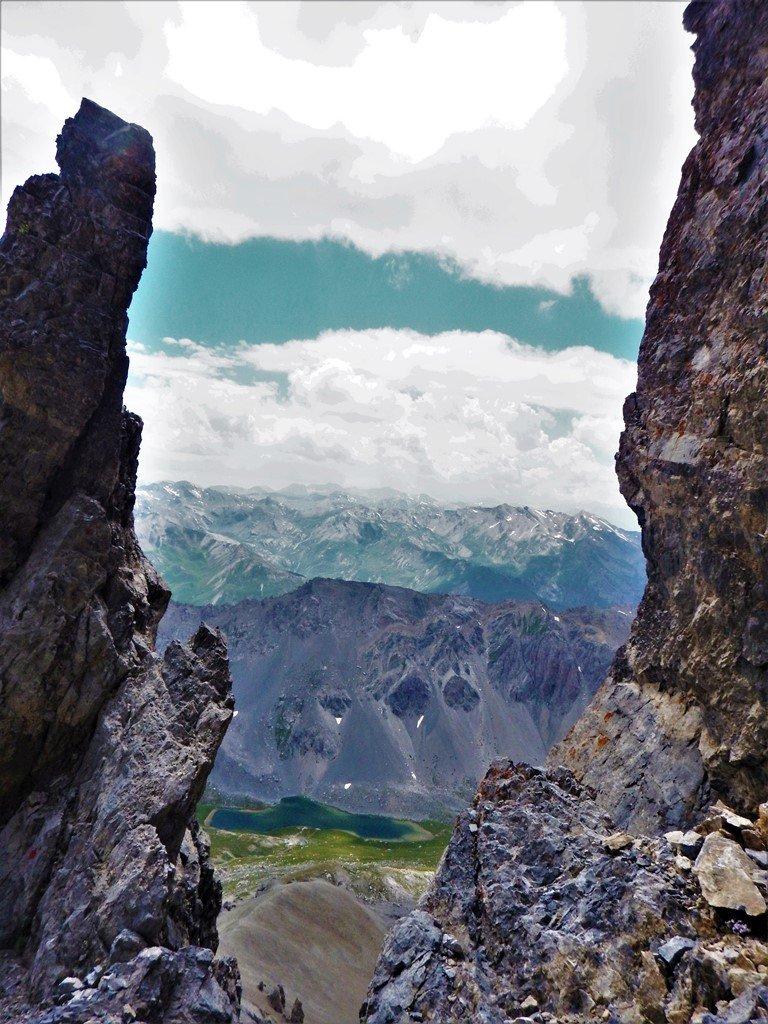 Finestra vista lago