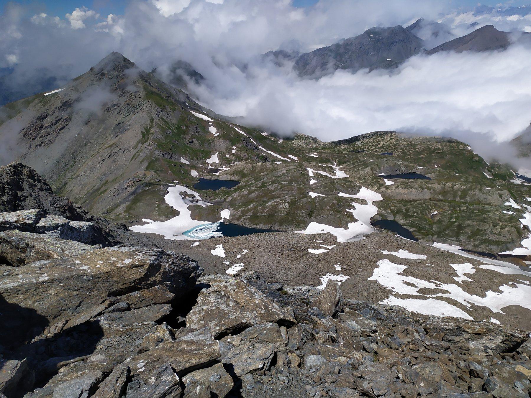 Scorcio sul versante della valle del Massello