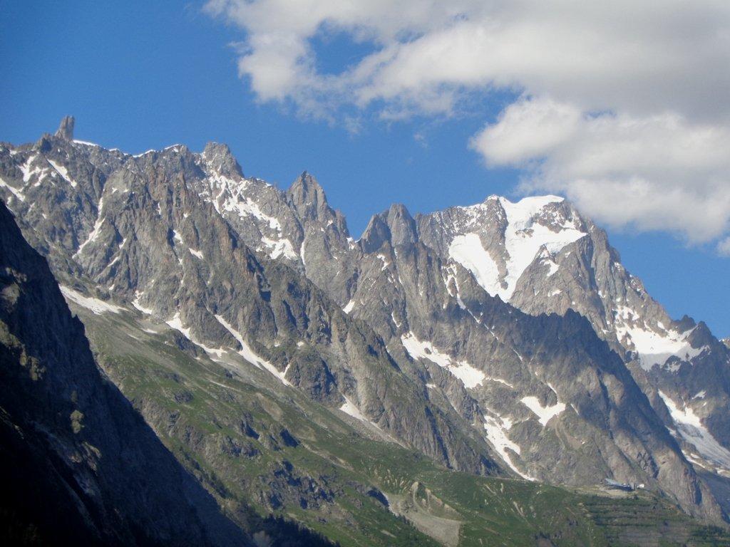 Monte Bianco e Dente del Gigante