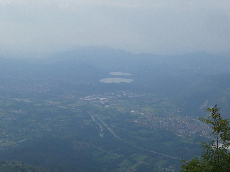 laghi di Avigliana visibili dalla punta