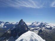 Panoramica dalla cima della Dent d'Herens.