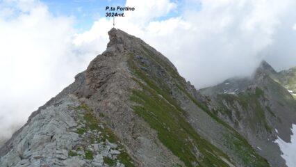 Quota 3024mt. della cresta del Fort che raggiungo in breve  facilmente, vista da quota 3010mt.