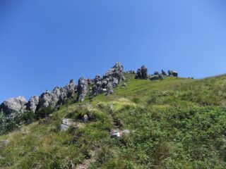 I giganti di pietra sulle pendici del Galero