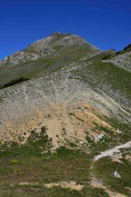 La Bassa di Terra Rossa e il Falso Monte Oserot