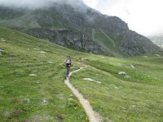 arrivo al Col du Salvé