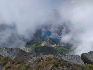 suggestivo scorcio lago di Ceresole