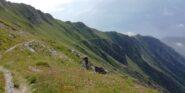 Spettacolare traverso lato Val Clarea