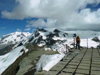 In cima al rudere del Furggen.