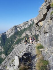 Sentiero degli Alpini.