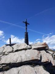 Croce di vetta della Chaligne