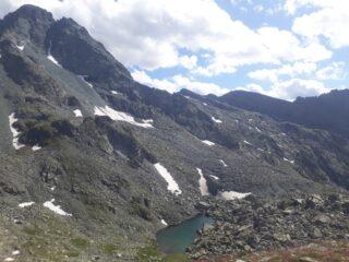 dal col manzol: vista sul monte Granero