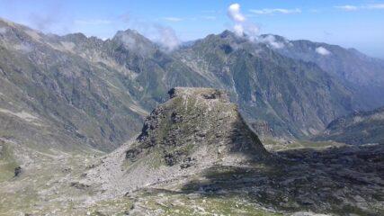 Punta della Stamberna da punta Giassetto