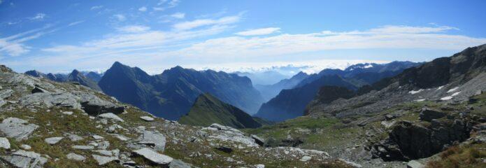 Maestosa vista sulla Valsesia