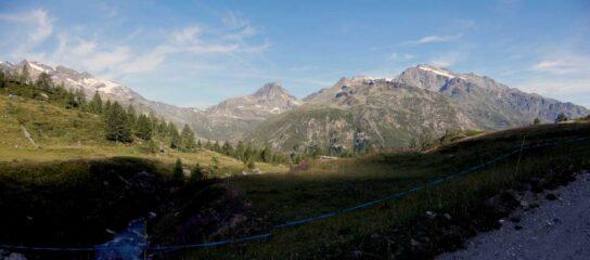 da mont fortchat verso rutor e gran becca du mont