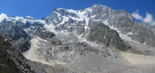 La parete Est del Monte Rosa