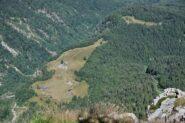 Alpe Campra vista dalla cima