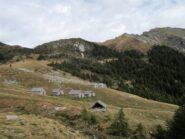 Alpe Cazzola, Bocch. di Cazzola a Sinistra, Pizzo Lociabella e Scheggia a destra