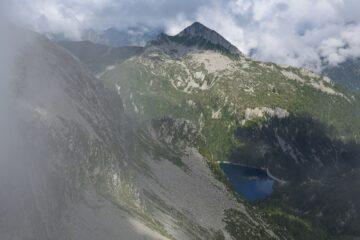 Cima  di Canogia e Lago di Larecchio