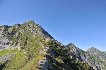 Cresta Nord vista dal Mottaccio