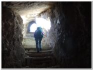 Sentiero delle gallerie - tratto ripido ma non basso