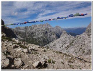 Le Dolomiti di Sesto dalla forcella Giralba