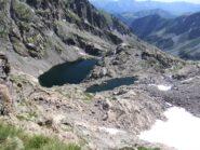 Lac Gelè e Lac Lusiere salendo al Pas de la Fous