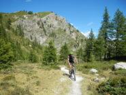 breve tratto ciclabile verso il Lago Nero
