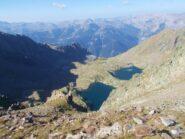 laghi Tenibres  dal Colletto della Lausa