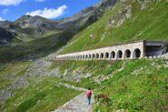 La bella mulattiera di rientro verso Montagna Baus