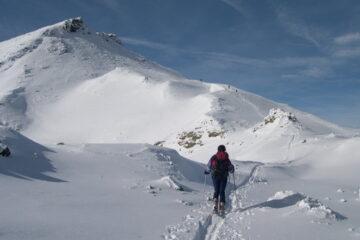 Si vede la nostra cima   I   Et voilà notre sommet!   I   Our peak is in sight   I   Man sieht unseren Gipfel   I   Se ve nuestra cima