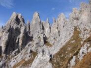 Pinnacoli rocciosi a gogò