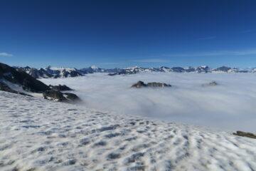 nebbioni sul versante francese