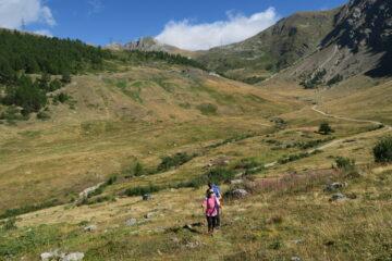 il sentiero verso il Col Vertosan