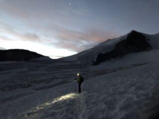 h 6, all'attacco del ghiacciaio