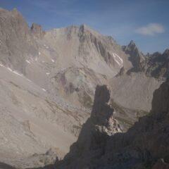 Pointe de La Cerces dal Col Beraudes