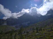 Latto ovest dalla Val Bregaglia venendo da Bondo