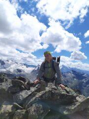 Io sulla cima Sud