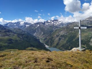 La grande croce di vetta