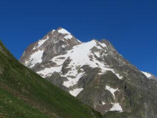 Aiguille de Trelatete e Piccolo Monte Bianco visti salendo