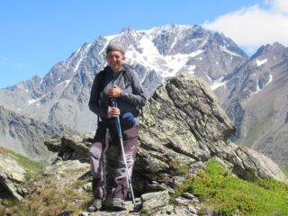 Davanti al Mont Velan