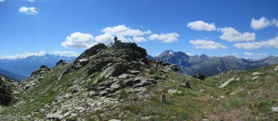 In vetta al Monte Paglietta